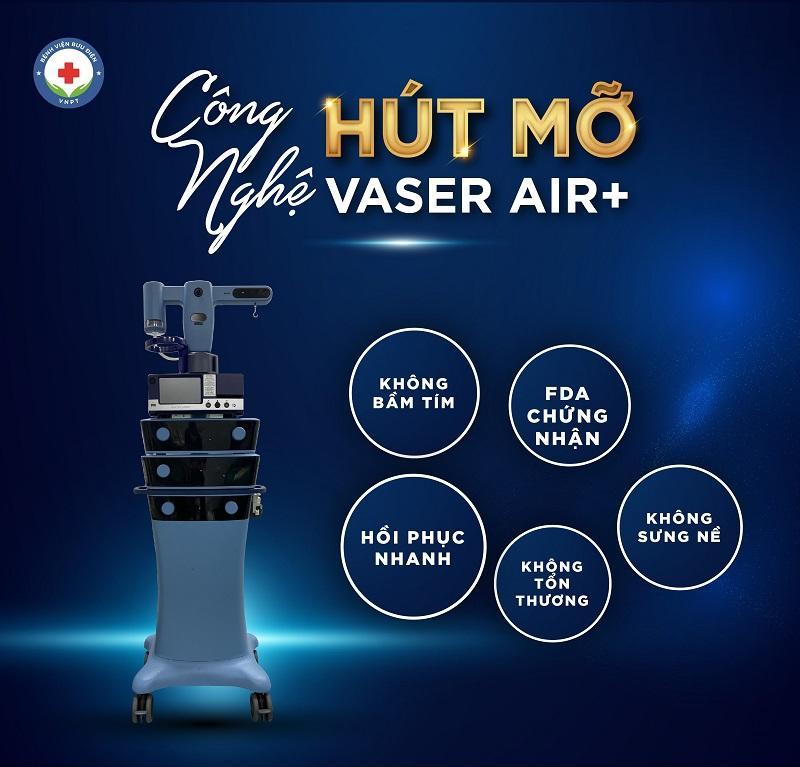 hút mỡ độc quyền vaser air+ 1